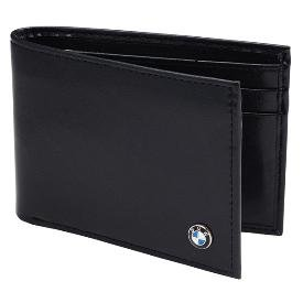 Genuine Bmw Mens Small Leather Wallet from BMW
