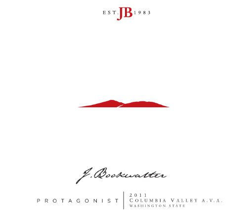 2011 Bookwalter Protagonist Red Blend 750 Ml