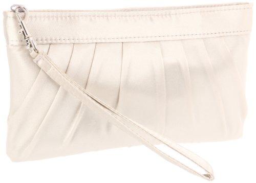 La Regale  Zip Wristlet With Rouched Top 24104 Clutch