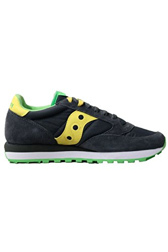 Saucony jazz original uomo S2044-334 sneaker grigio scuro giallo
