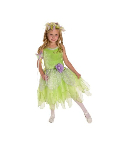 Tinkerbell Fairy Deluxe Dress-up Costume SMALL(1-3)