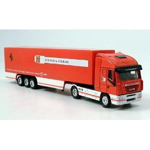 Amazon.com: Iveco Stralis, Scuderia Ferrari, Model Car, Ready-made