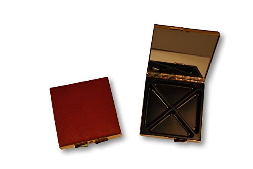 budd-leather-company-leather-covered-4-section-square-pill-box-red-64-ounce-by-budd-leather