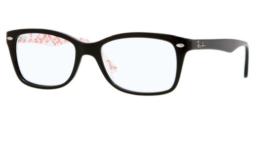 Ray-Ban RX 5228 (5014) BLACK 53mm 17mm