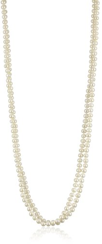 Bella Pearl Endless White Necklace