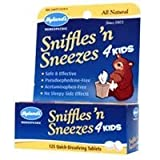 Hylands Sniffles n Sneezes Tablets for kids, 125 Quick-Dissolving Tablets