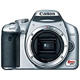 Canon Digital Rebel XSI 12MP Digital SLR Camera (Silver Body Only)