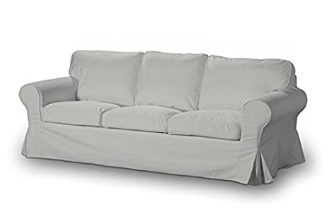 DEKORIA 633-705-90 rivestimento per divano Ektorp 3 posti, Etna, colore grigio chiaro