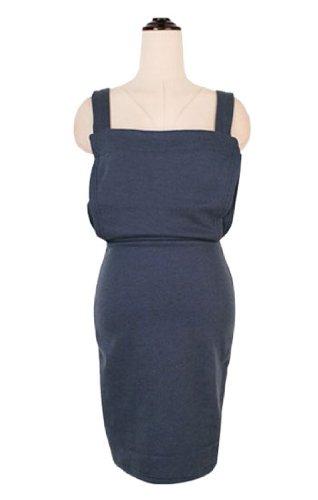 Amazon.co.jp: あったか裏起毛無地スウェットサロペットスカート ネイビー: 服&ファッション小物通販