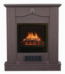 Stonegate® Dark Cherry Mantle Electric Fireplace photo B0045NUZJE.jpg