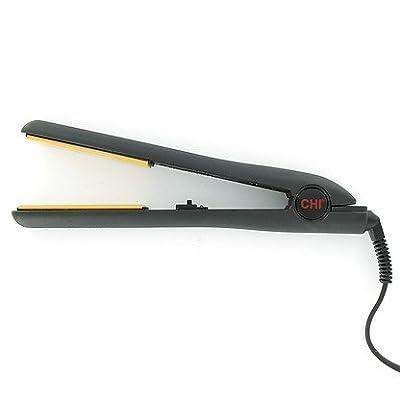 Chi Original Flat Iron Hair Straightener Ceramic Hairstyling Iron Black - 1 Inch