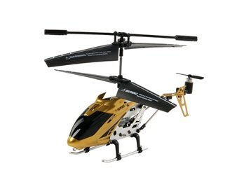 GS240 3 Channel Infrared Coaxial Remote Control Helicopter with Built-in Gyro (Golden)