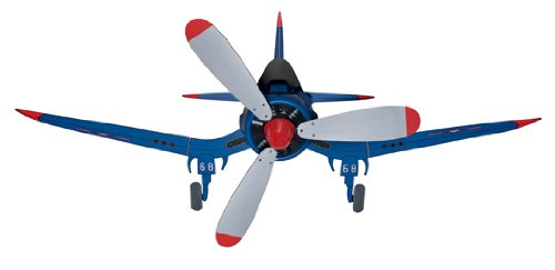 "Hunter Fans 24852 48"" Fantasy Flyer Kid'S Indoor Flush Mount Blue Ceiling Fan"