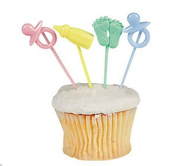 1 X Baby Shower Theme Party Picks (72 pc)