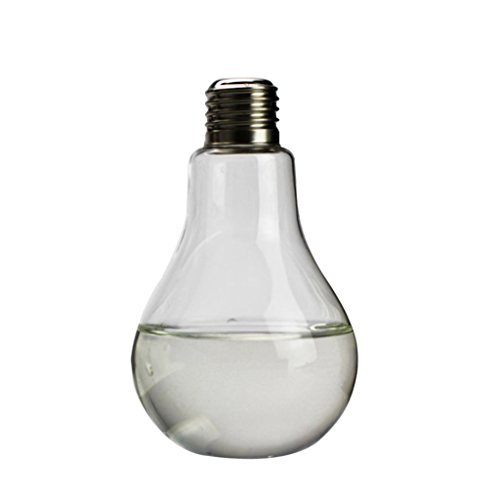 vase de table en verre transparent forme de l ampoule pour plantes fleurs d coration de jardin. Black Bedroom Furniture Sets. Home Design Ideas