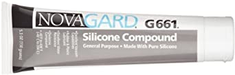 Novagard G661 General Purpose Silicone Grease-Like Compound, 5.3 oz Tube