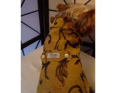 Attention-Grabbing Risotto Sir Winston Dog Coat (Small)