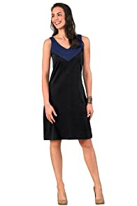 Fair Indigo V-Neck Organic Fair Trade Dress