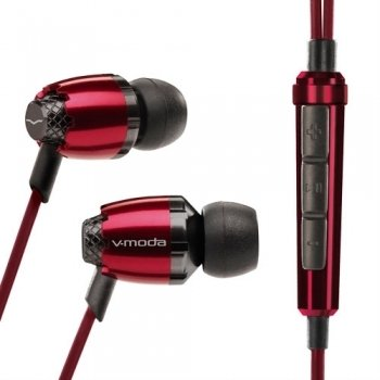 V-Moda Remix Remote In-Ear Headphones For iPhone & iPod - Rouge