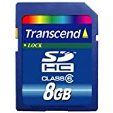 TRANSCEND 8GB SDHC (CLASS 2)by Transcend