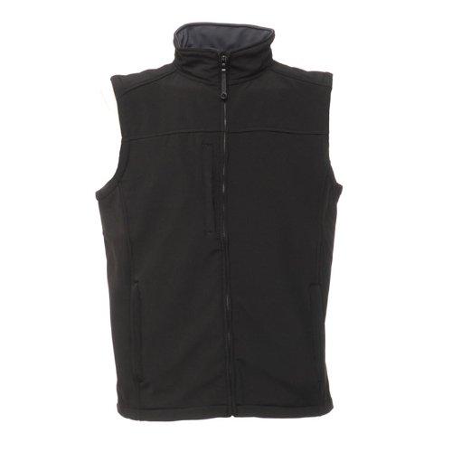 regatta-mens-flux-softshell-water-repellent-bodywarmer-black-grey