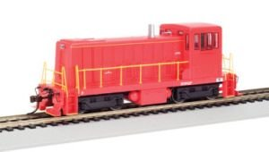Bachmann GE 70 Ton Diesel Painted, Unlettered Red Locomotive HO Scale, DCC On-Board