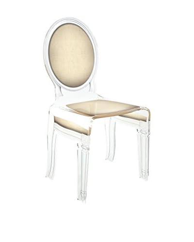 ACRILA Sixteen Chair, Taupe