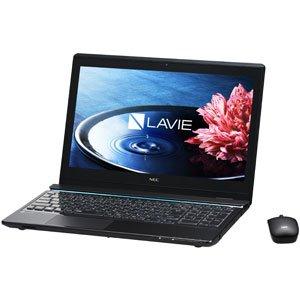 NEC ノートパソコン LaVie Note Standard NS750/BAシリーズクリスタルブラック(タッチパネル)(Office Home & Business Premium プラス Office 365)【オリジナル】 PC-NS750BAB-J