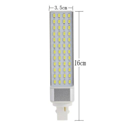 Yaho-Mall New G24 Bulb Smd 5630 Led Spot Light Bulb Lamp 85-265V Coolwhite/10W/48Leds
