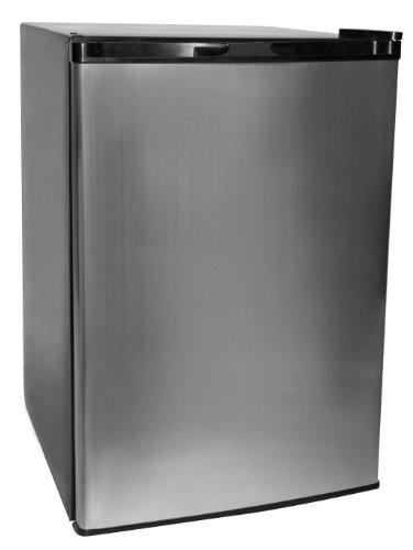 Haier HNSE045VS Refrigerator/Freezer, Cabinet/Vcm Door, 4.5-Feet cubic