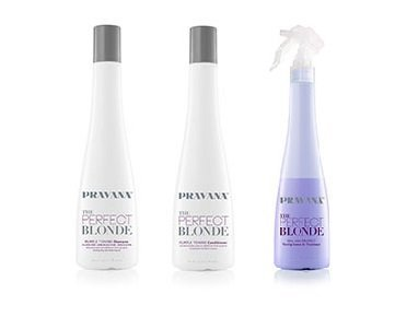 PRAVANA THE PERFECT BLONDE Purple Toning Combo (Purple Toning Conditioner compare prices)