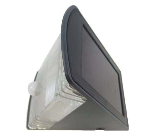 Solar Powered Entrance Light With Motion Sensing Activation