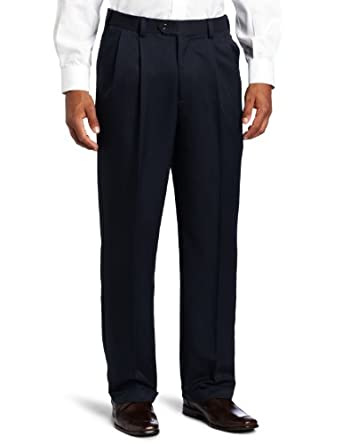 Geoffrey Beene Men s Sorbtek Performance Dress Golf Pleated Extender Pant 4e65397c7