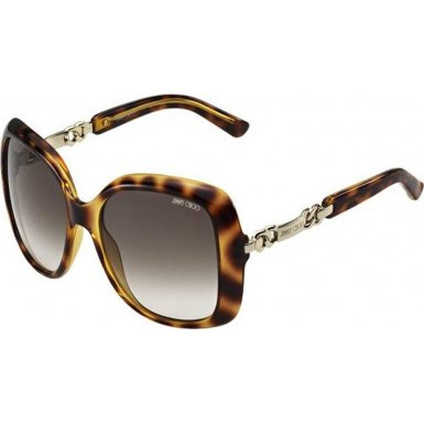 Jimmy Choo JIMMY CHOO Sunglasses WILEY/S 0BME Havana 56MM