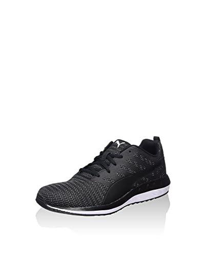 Puma Sneaker Flare Metal [Nero/Bianco]