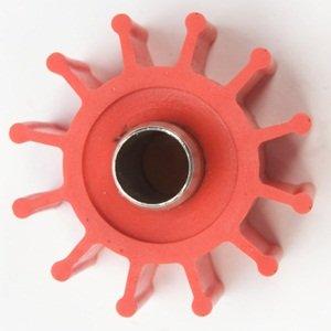 Globe Marine Run-Dry® Impeller Model 050Ss Red For Jabsco 5929-0003 & Johnson Pump 09-804B-9 Impellers.