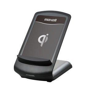 maxell Qi規格対応 ワイヤレス充電スタンド ブラック WP-QIST10BK