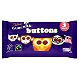 Cadbury Dairy Milk Buttons 3 Bags Pack 96G