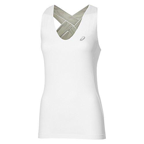 Asics Athlet Tank - Smanicata Donna - Tennis novità 2016 (XS-34)