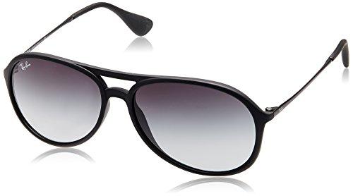 Ray-Ban Aviator Sunglasses (Rubber Black) (0RB4201622/8G59)