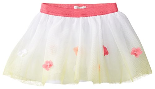 The Children's Place Baby Girls' Dip Dye 3D Skirt, Lemon Juice, 9 12 Months
