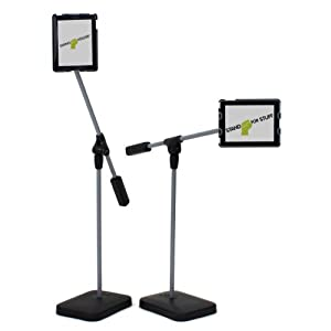 iPad Floor Stand: SwingHolder, Compatible with iPad 1, 2, 3 and 4 (SFS-FSI-A)