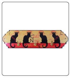Decorative Hooks Cat Motif