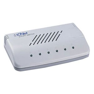 CNET CNTCNSH-500 5Port 10/100 Fast Ethernet NWAY Switch