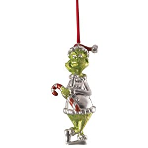 Lenox Dr. Seuss Greedy Grinch Limited Collectible Holiday Christmas Tree Ornament