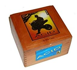 Empty Premium Acid Cigar Box, Hinged Lid by ACID Cigars