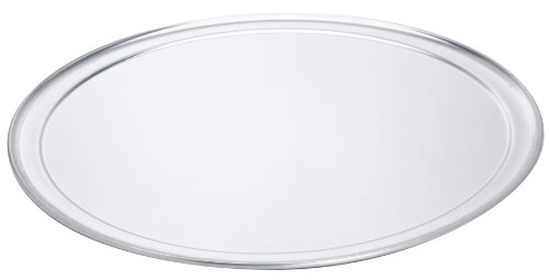 Browne Foodservice 5730037 Thermalloy Aluminum Wide Rim Pizza Pan, 17-Inch