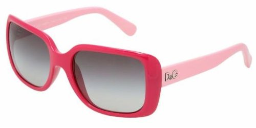 D&g Dd8067 Fuxia/Grey Gradient Sunglasses (Dd8067-16358g-56-18-135)
