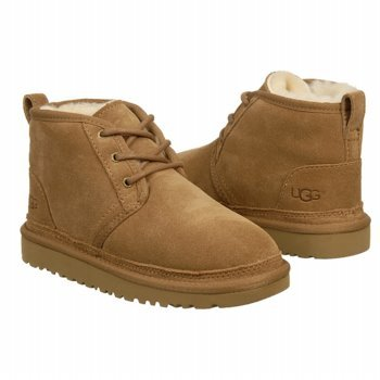 UGG Australia Children's Neumel Chukka Boots,Chestnut,3 Child US