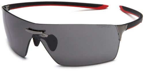 Tag Heuer Squadra 5501 Sport Sunglasses,Grey Frame/Grey Lens,one size